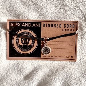 Alex and Ani Claddagh Kindred Cord Bracelet